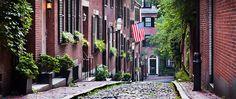 Quartier de Beacon Hill à Boston