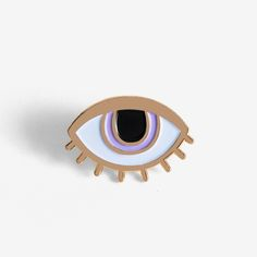 Image of Eyeball Pin + Post