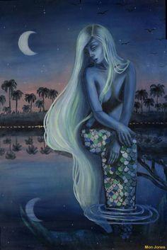 Fantasy Mermaids, Unicorns And Mermaids, Mermaids And Mermen, Fantasy Paintings, Fantasy Art, Mermaid Artwork, Mermaid Paintings, Siren Mermaid, Mermaid Pictures