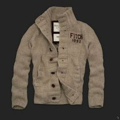 Hot Sale Abercrombie and Fitch Dickerson Notch Sweaters For Mens 002