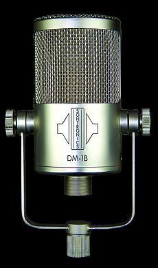 Sontronics DM1B Large Diaphragm Condenser Bass Designed Microphone Review...