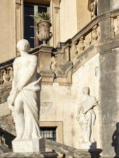 La Villa Valguarnera en Sicile