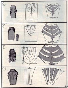 skirt model drawings