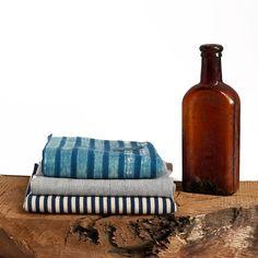 Kitchen Towel   Crossdye Indigo – Stash