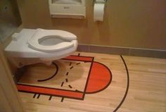 Please do not attempt a three-pointer.