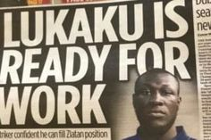 Stormzy Responds To Newspaper Lukaku Mistake And He's Really Not Happy - https://viralfeels.com/stormzy-responds-to-newspaper-lukaku-mistake-and-hes-really-not-happy/