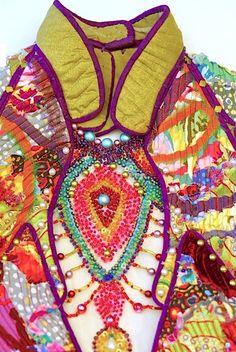 Madame Dragonfly (detail) by Kayla Kennington, 2003