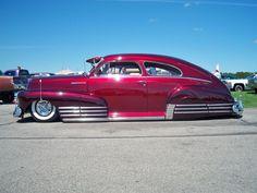 1942 Chevy Fleetline Aero Sedan - low, low, low...Love American Style.....