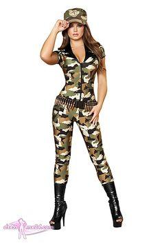 Army Kostüm Overall - mit diesem Kostüm habt Ihr die Hosen an ;-) - außderm droht keine Unterkühlungsgefahr!