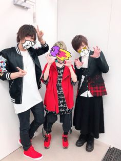 Ama-chan with Rinu-san, Gero-san at Honey Work's special even Vocaloid, Kaito, Beautiful Voice, Beautiful Person, Honey Works, Life Pictures, Group Photos, Joker, Geek Stuff