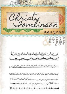 christy tomlinson & unity stamp company -SHEart doodles