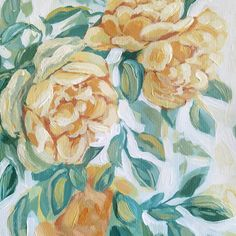"12 отметок «Нравится», 1 комментариев — Acrylic Painter | Lina Vonti (@linavonti) в Instagram: «New painting straight from the easel. ""Tea roses"" 30x40cm acrylic on paper, available.  I've been…» Flower Paintings, Tea Roses, Easel, Flowers, Instagram, Art, Paintings Of Flowers, Flip Charts, Craft Art"