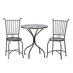 Black Metal Patio Table and Chair Set - Perfect for a Small Porch or Patio Smart Living http://www.amazon.com/dp/B00KXEROVQ/ref=cm_sw_r_pi_dp_BDtxwb0WMG07M