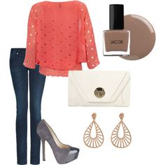 Love the blouse & shoes
