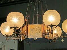 American Victorian Ceiling Light   BIG OLD HOUSES