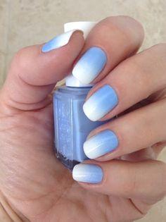 Endless Madhouse!: Wonderful Gradient Nails!!!
