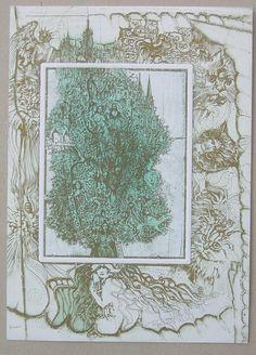 Exlibris Pavel Hlavaty Lebensbaum Tree of Life | eBay