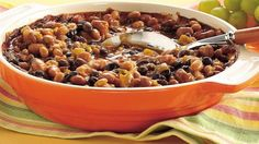 Flip on the slow cooker and relax: this ultra-simple meal based on nutritious beans and spicy tomatoes takes little more than a can opener to prepare.