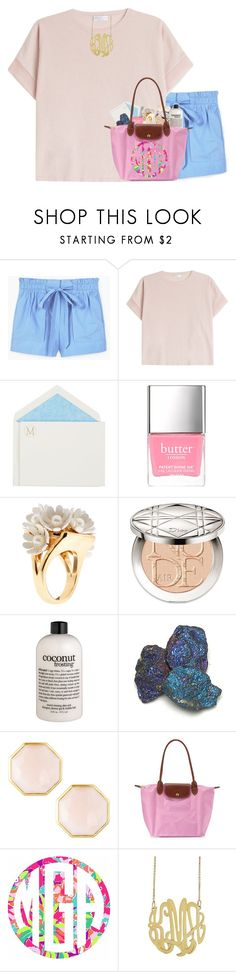 """heaven help the fool who did her wrong"" by livnewell ❤ liked on Polyvore featuring MANGO, Brunello Cucinelli, Connor, Butter London, Lele Sadoughi, Christian Dior, philosophy, Ippolita, Longchamp and Lilly Pulitzer"
