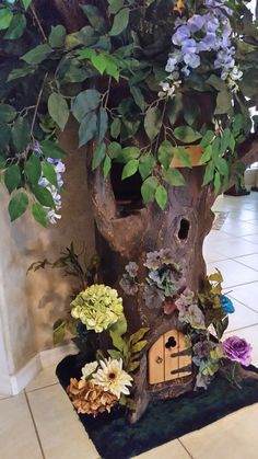 7' ~Fantasy Cat Tree~ Create one with your favorite colors and flowers.