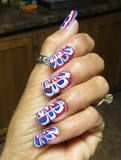 marble painting nails - Google Search