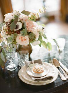 Natural, organic Parisian wedding ideas