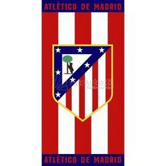 Toalla de Playa ATM 02 Atlético de Madrid - Bazartextil.com