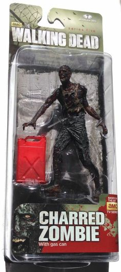 McFarlane Toys The Walking Dead TV Series 5 Charred Walker Action Figure