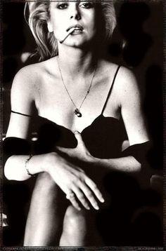 Catherine Deneuve, Paris, 1976 ~ Helmut Newton