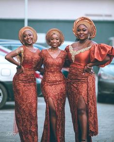They absolutely look stunning. Nigerian fashion styles for women. Nigerian Lace Styles, Aso Ebi Lace Styles, Nigerian Dress, African Lace Styles, Lace Dress Styles, Nigerian Fashion, African Wear Dresses, Latest African Fashion Dresses, African Clothes