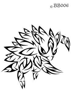#028: Tribal Sandslash by blackbutterfly006.deviantart.com on @deviantART