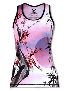 INKnBURN - Women's Zen Singlet, $39.95 (http://www.inknburn.com/womens-zen-singlet/)