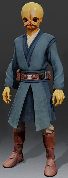Cho Zeh'Bra from Kinect Star Wars Jedi Padawan Apprentice Bith Xbox video game alien