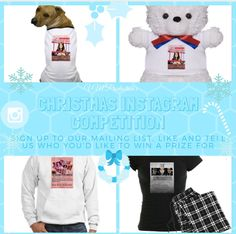 You can enter our  huge #Competition on Instagram as well! Visiti our website and learn how to enter! Good Luck! Christmas Competitions, Competition Time, Social Media Site, Great Gifts, Teddy Bear, Website, Learning, Blog, Instagram