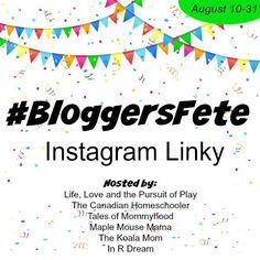 #BloggersFete Instagram Linky + Giveaway