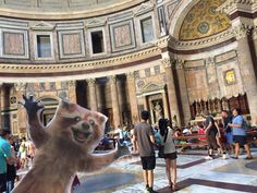 Rory loves all the people in the Pantheon #wheresrory