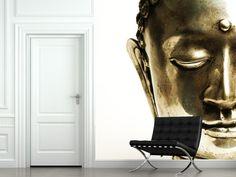 Eazywallz  - Golden Buddha Wall Mural, $147.18 (http://www.eazywallz.com/golden-buddha-wall-mural/)