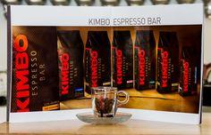 Kimbo espresso bar line