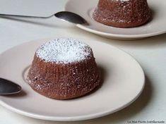 tortino al cioccolato caldo senza glutine e lattosio, dal cuore morbido e avvolgente, preparazione con e senza bimby.