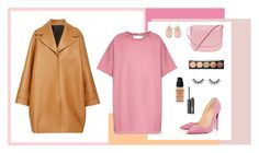 """""""pink"""" by rw-74 on Polyvore featuring мода, Marques'Almeida, Rochas, Christian Louboutin, Mansur Gavriel, Givenchy и NARS Cosmetics"""