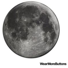 """Full Moon Lunar 1.5"""" Badge or Magnet ($3) ❤ liked on Polyvore featuring home, home decor, office accessories, backgrounds, moon, magnets refrigerator, button magnets, magnets fridge and post card"""