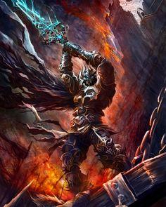 *Anogh Stormslayer, human, death knight.