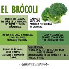 ¿Por qué debería gustarte el brócoli? #salud #alimentacion
