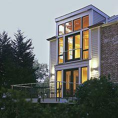 Modern Home Addition Exterior
