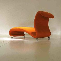 Verner Panton; Chaise Longue for Storz & Palmer, c1963.