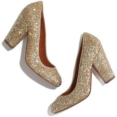 With its gently rounded toe, chunky heel and party-ready glittery palette, this highly walkable pump has wear-forever appeal—a true closet mainstay. Please not…