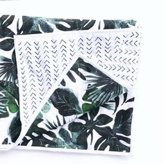 BABY QUILT Tropical and Mudcloth baby blanket baby gift