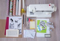 Handmade - Do it yourself: Briefumschläge gestalten