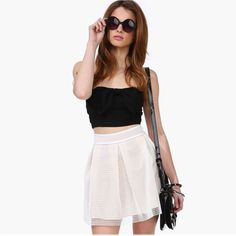 Aliexpress.com : Buy Drop Saling Mesh lined hollow folds skating skirt skirts Free shippingWC093B228 from Reliable skirt weight suppliers on Queen Spring