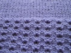 AWESOME machine knitting blog!  lots of info, videos and patterns :)  Stitch Pattern Close Up by susyranner, via Flickr